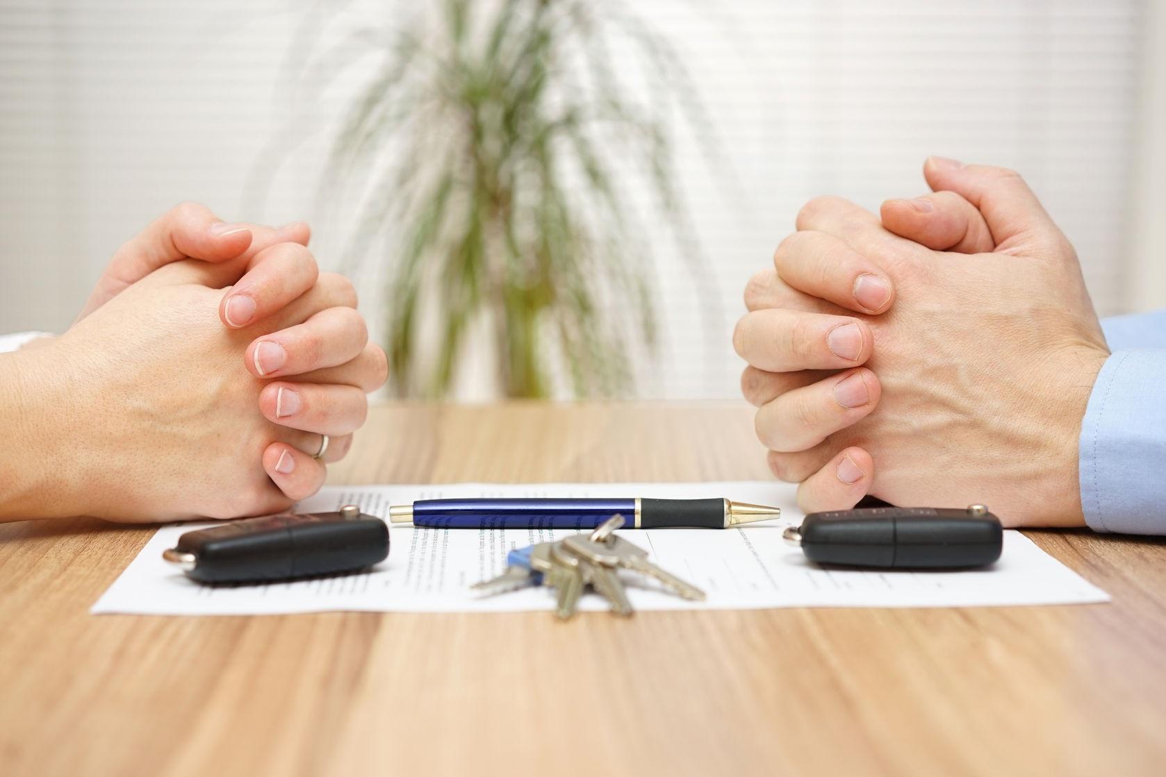 Составление соглашения о разделе имущества состав документа