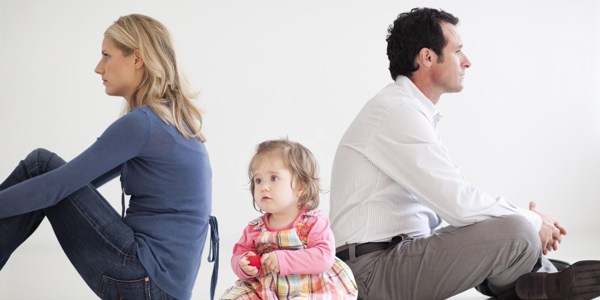 С кем останутся дети при разводе
