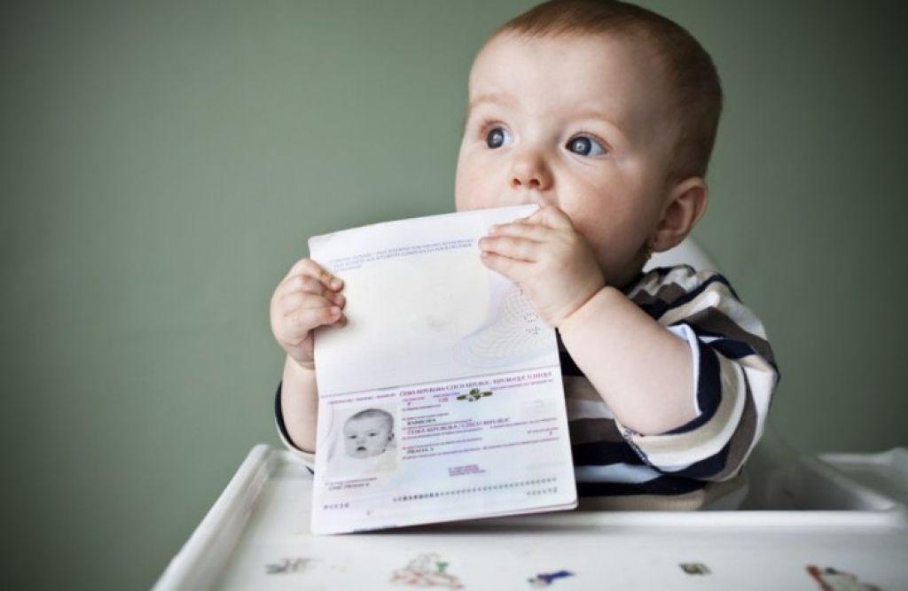 Как сделать новорожденным прописку 248